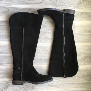 Franco sarto black boots 6 new
